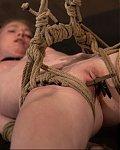 SexyBDSMgirl gets her labia clamped