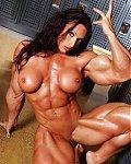 Extrem starkt Muskelfrauen nackt und freiz�gig